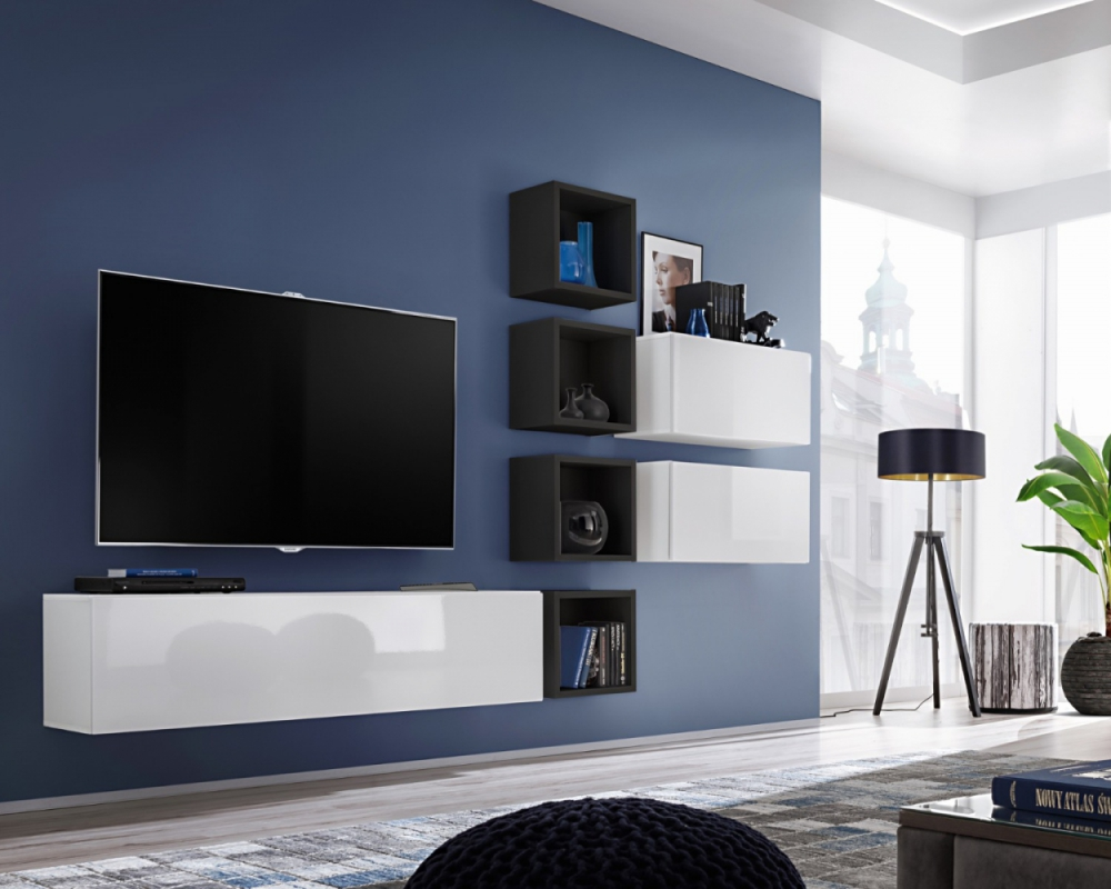 Modern Wall Units Details About Boise Vii Modern Entertainment Center Modern Wall Units For Tv