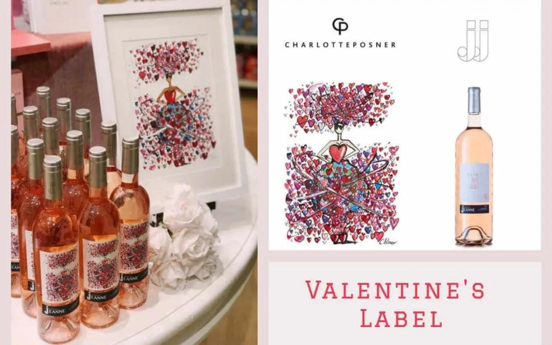 Valentine\u0027s Day Label Domaine Des Jeanne