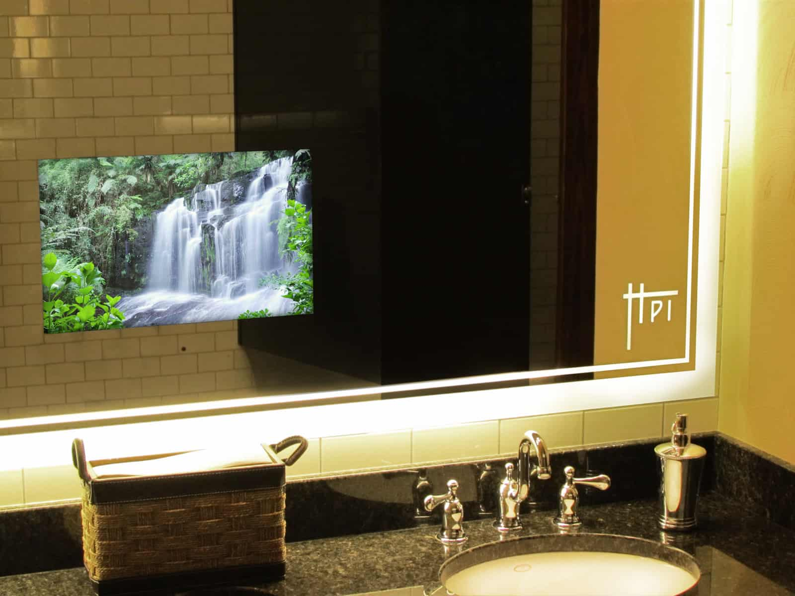 Tv In Bathroom Mirror Price Tv When You Want It Decor When You Need It Domes Av