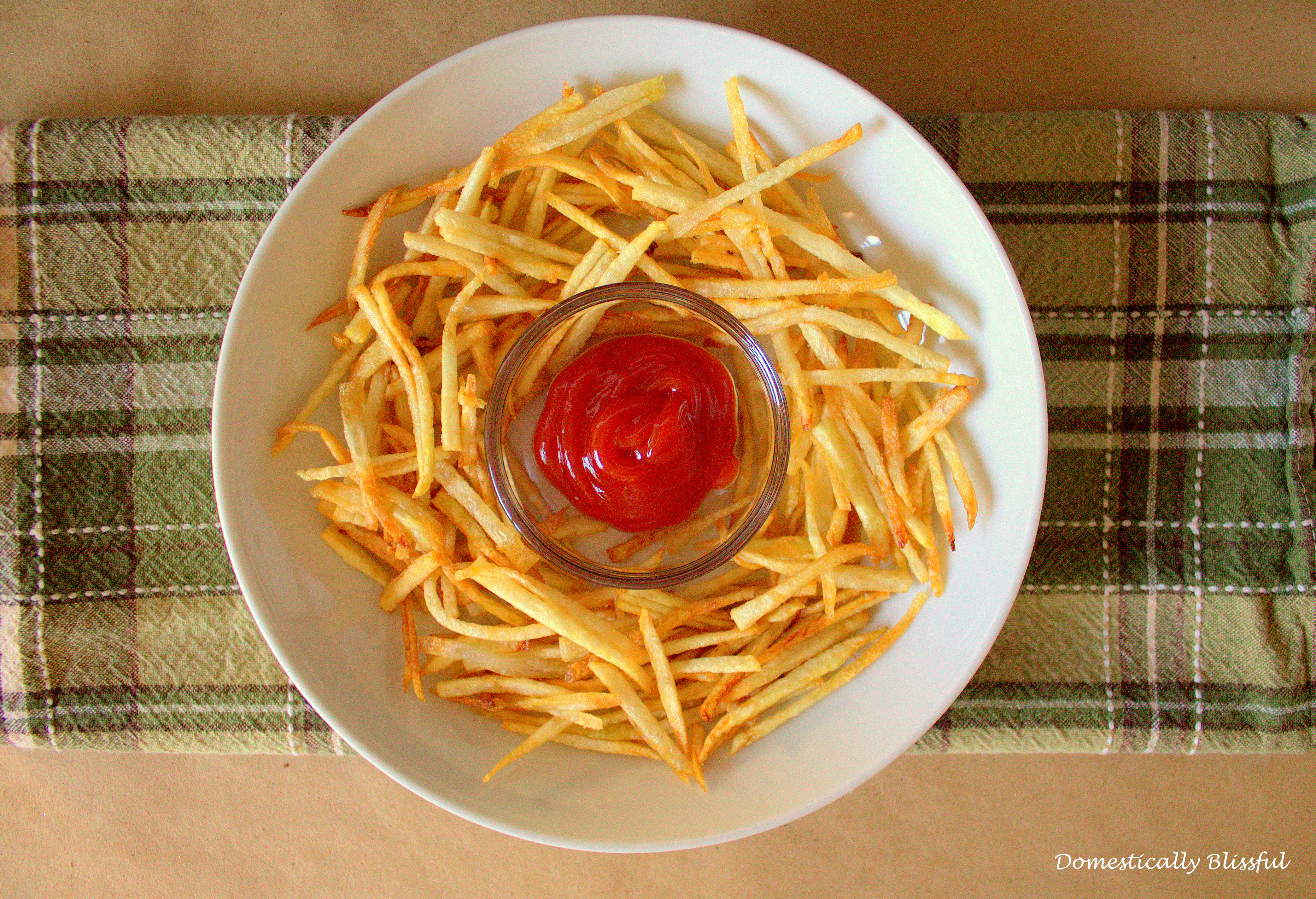 how to keep french fries crispy