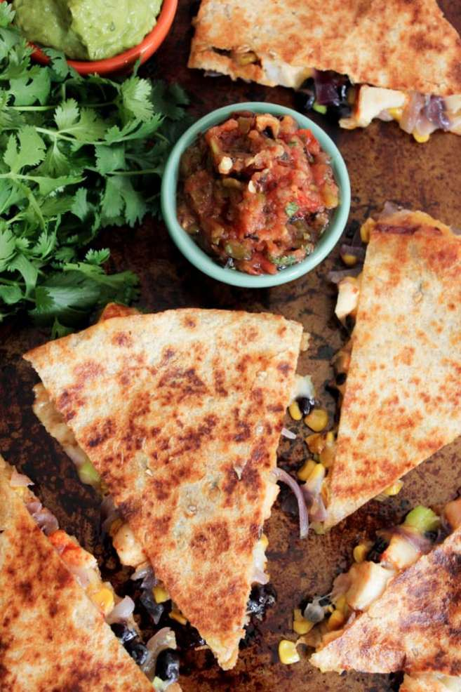 ... quesadillas roast turkey and black bean quesadillas chicken black bean