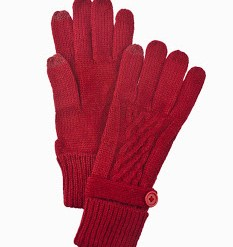Domesticated-Me-Gift-Guide-Cable-Knit-Cutie-Smart-Tip-Gloves-Red