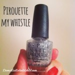 Pirouette My Whistle