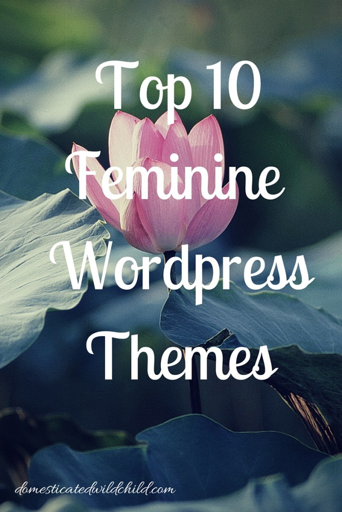 top 10 feminine wordpress themes