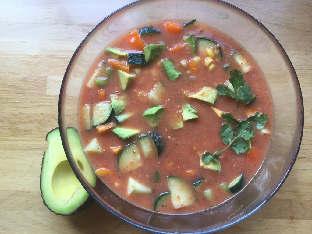Homemade Gazpacho