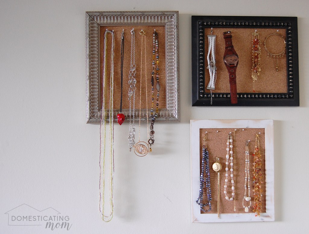 Picture Frame Jewelry Boards