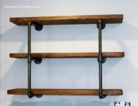 DIY Industrial Shelving - Farmhouse Kitchen Fixer Upper ...