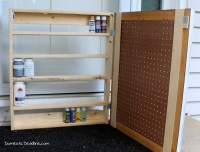 Project Challenge - DIY Paint Storage Cabinet - Domestic ...