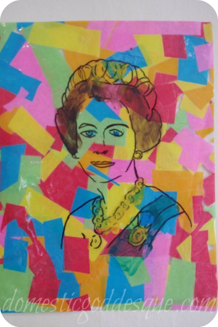 smudge on paint, Inspired by Warhol