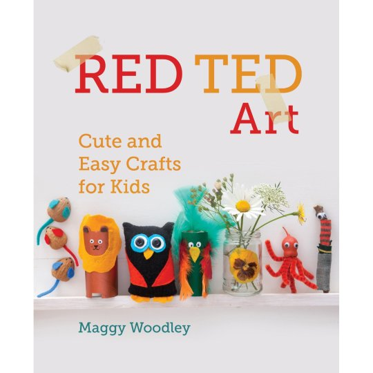 red ted art cute craft