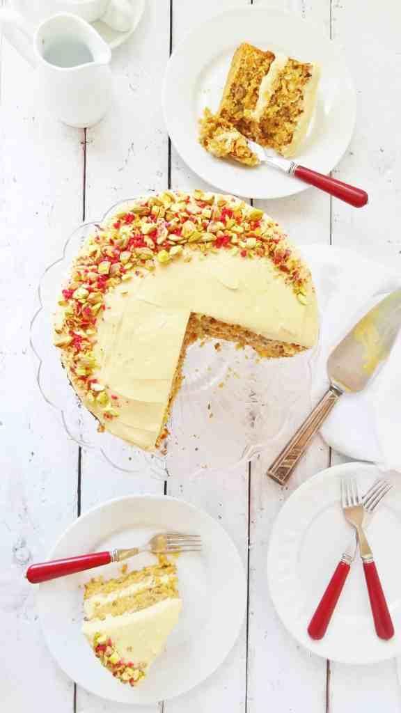 carrot cake vanilla cream cheese icing