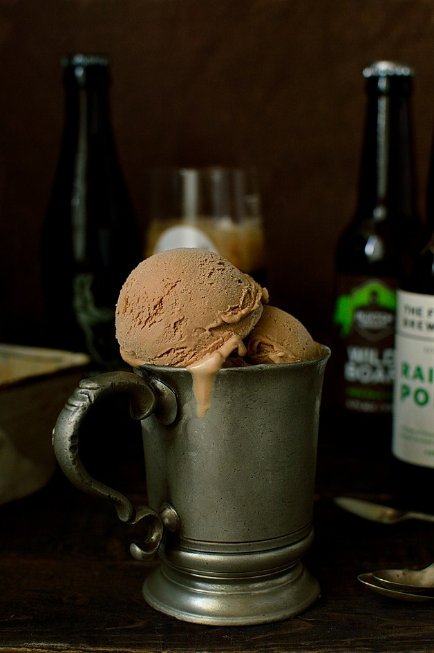 Chocolate Porter (Or Stout) Ice Cream & A Giveaway - Domestic Gothess