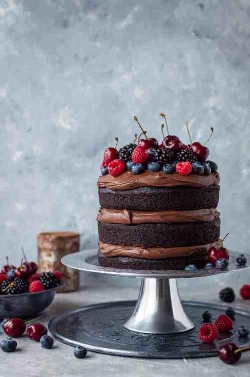 Medium Of Chocolate Cake Images