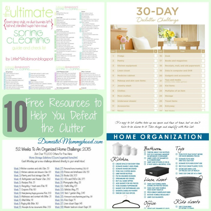 resources clear clutter organized home simple kitchen organization ready tackle clutter