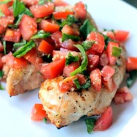 Skinny Bruschetta Chicken