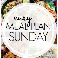 EASY MEAL PLAN – Week 53