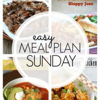 EASY MEAL PLAN – Week 70