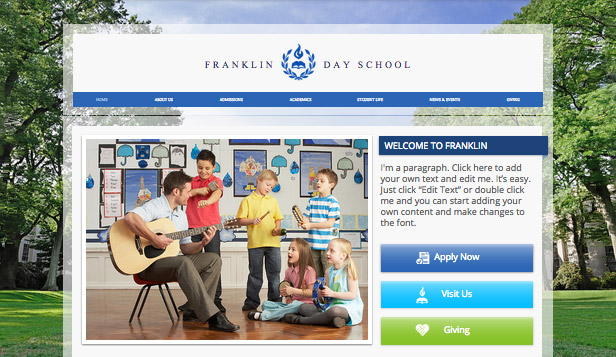 How to Create the Perfect Classroom Website - how to create a website template