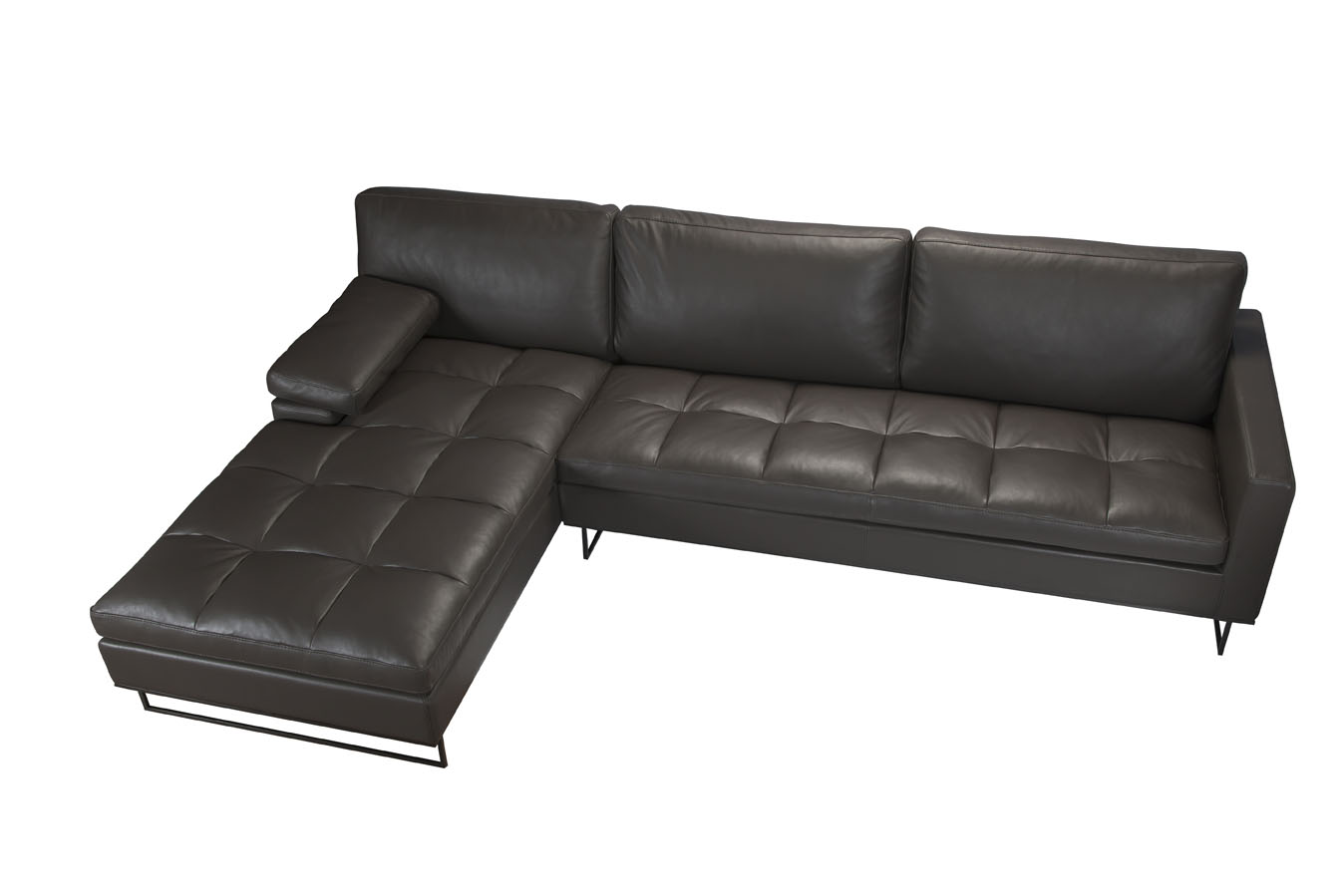 Couches For Sale Brisbane Saint Clair L Shaped Sofa Quilted Seat Chaise Domo