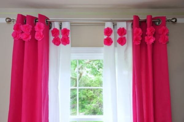 Pink-Nursery-Pom-Pom-Curtains-by-Niki-Pfeiffer