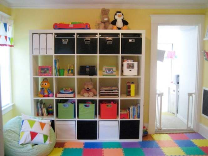 Great Playroom Ideas Modern Storage Room Organization Ideas