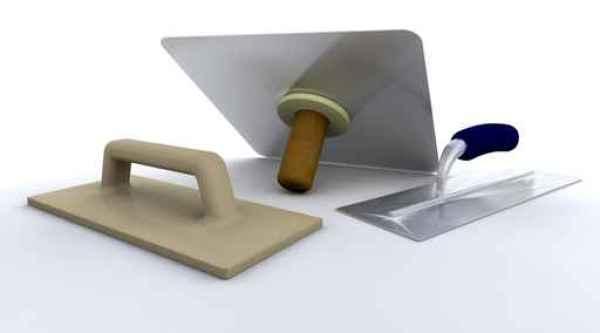 Plasterers tools