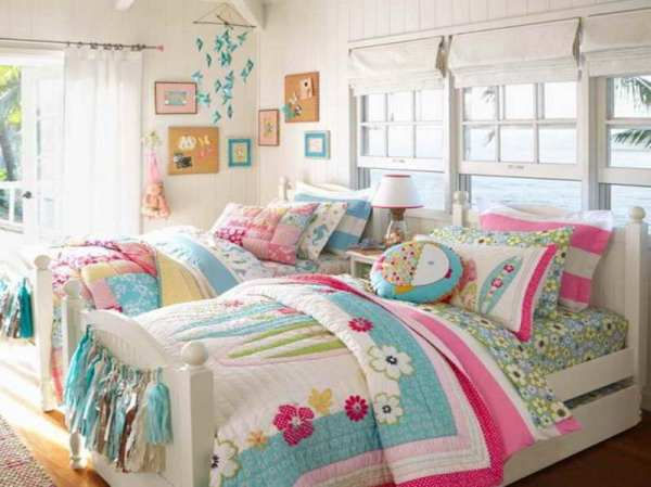 Popular-Options-for-Childrens-Bedroom-Decor-with-twin-beds