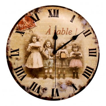 french-wall-clock-a-table-12-metal-embossed