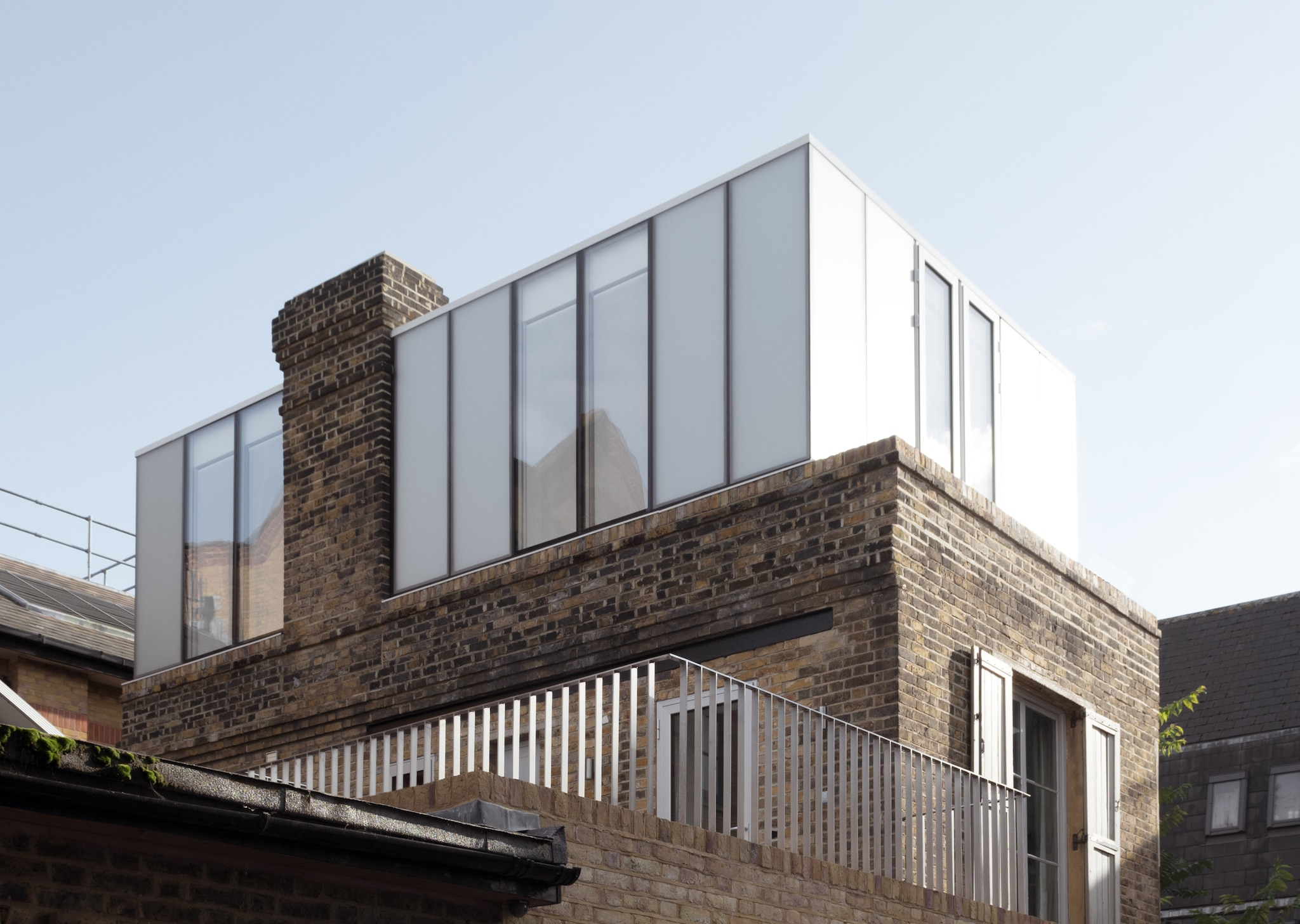 Glass Roof Extension Brick And Glass Extensions Convert A Victorian Bakery Into A