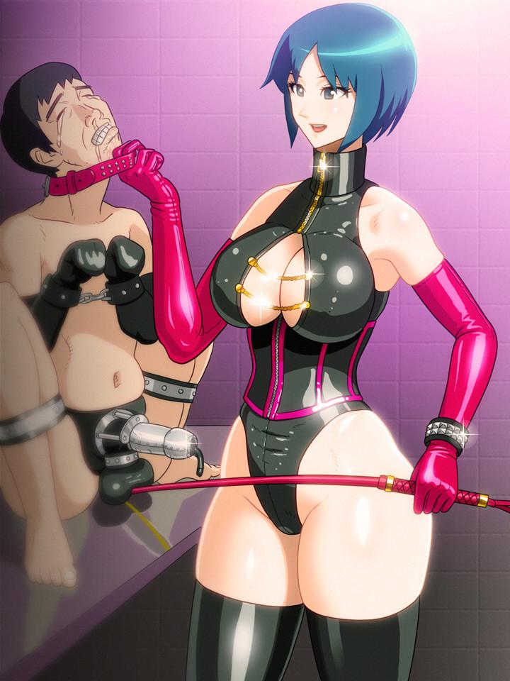giantess hentai femdom castration