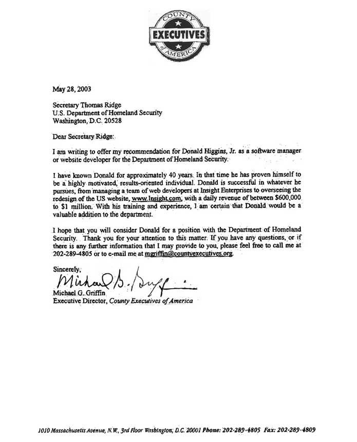 Reference Letter For A School Secretary Free Resume