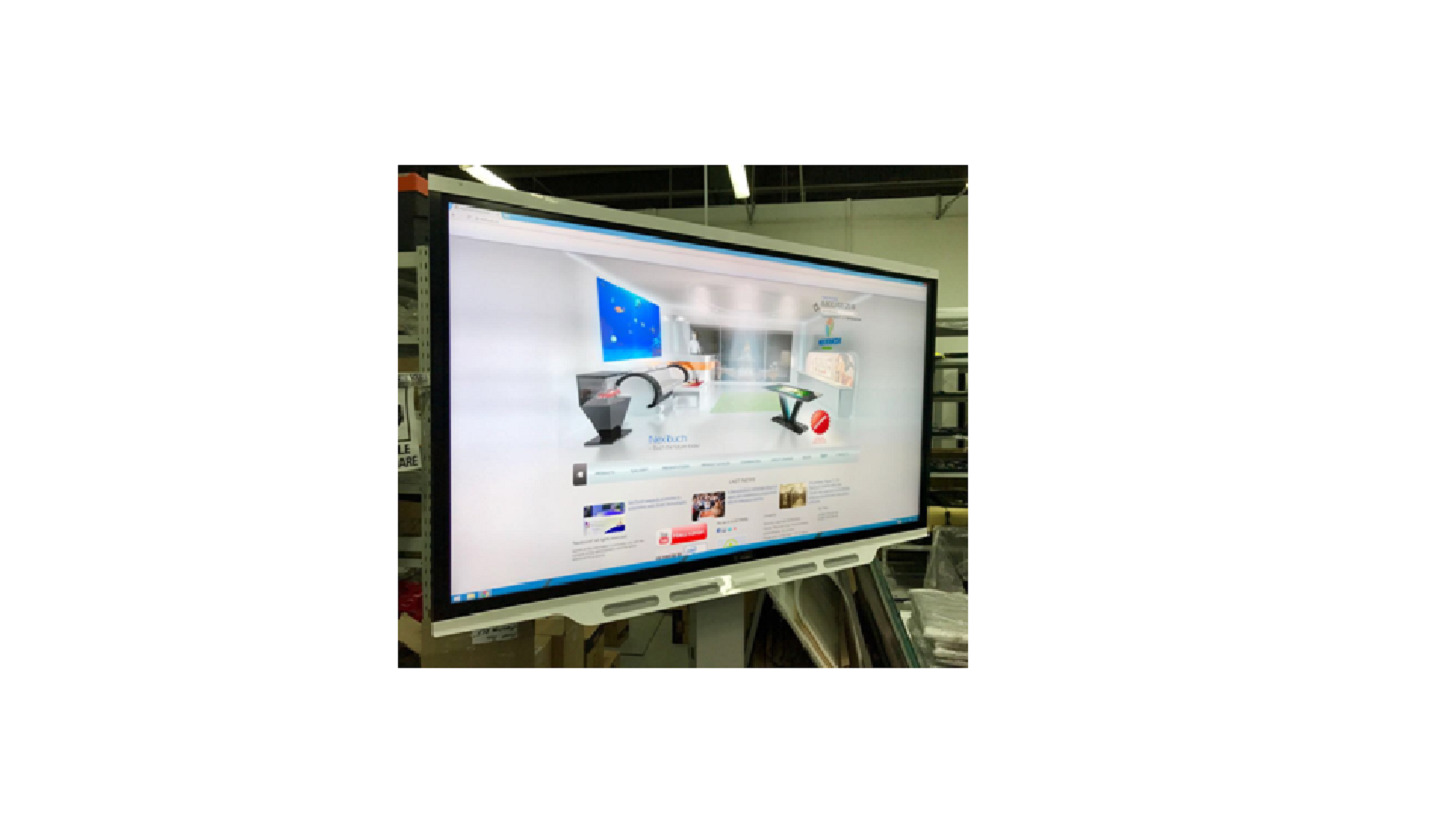 Media Tv Hannover Interactive Panel Nextouch 86