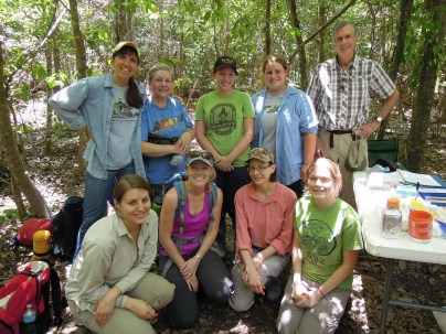 MAPS banding project. Pearl River Wildlife Management Area (Honey Island), Pearl River, LA