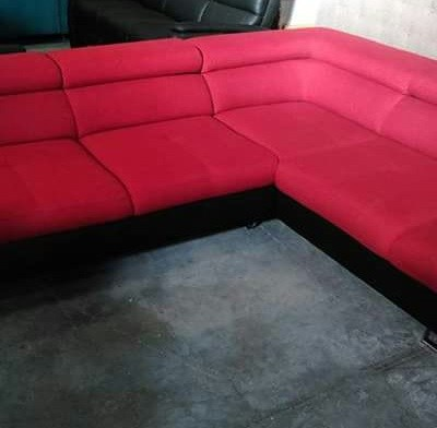 Red Corner Sofa Bed - Florence