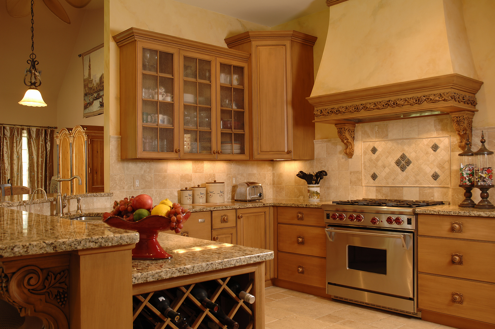 Kitchen Wine Cabinet Donco Designs Is A Pompano Beach Remodeling Contractor