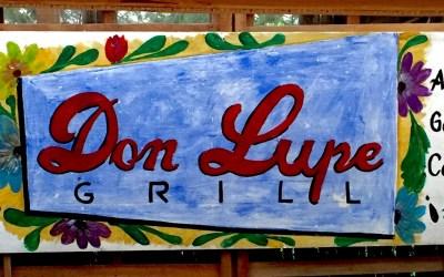 Ambiente bueno. Gente buena. Comida buena. It must be Don Lupe Grill.