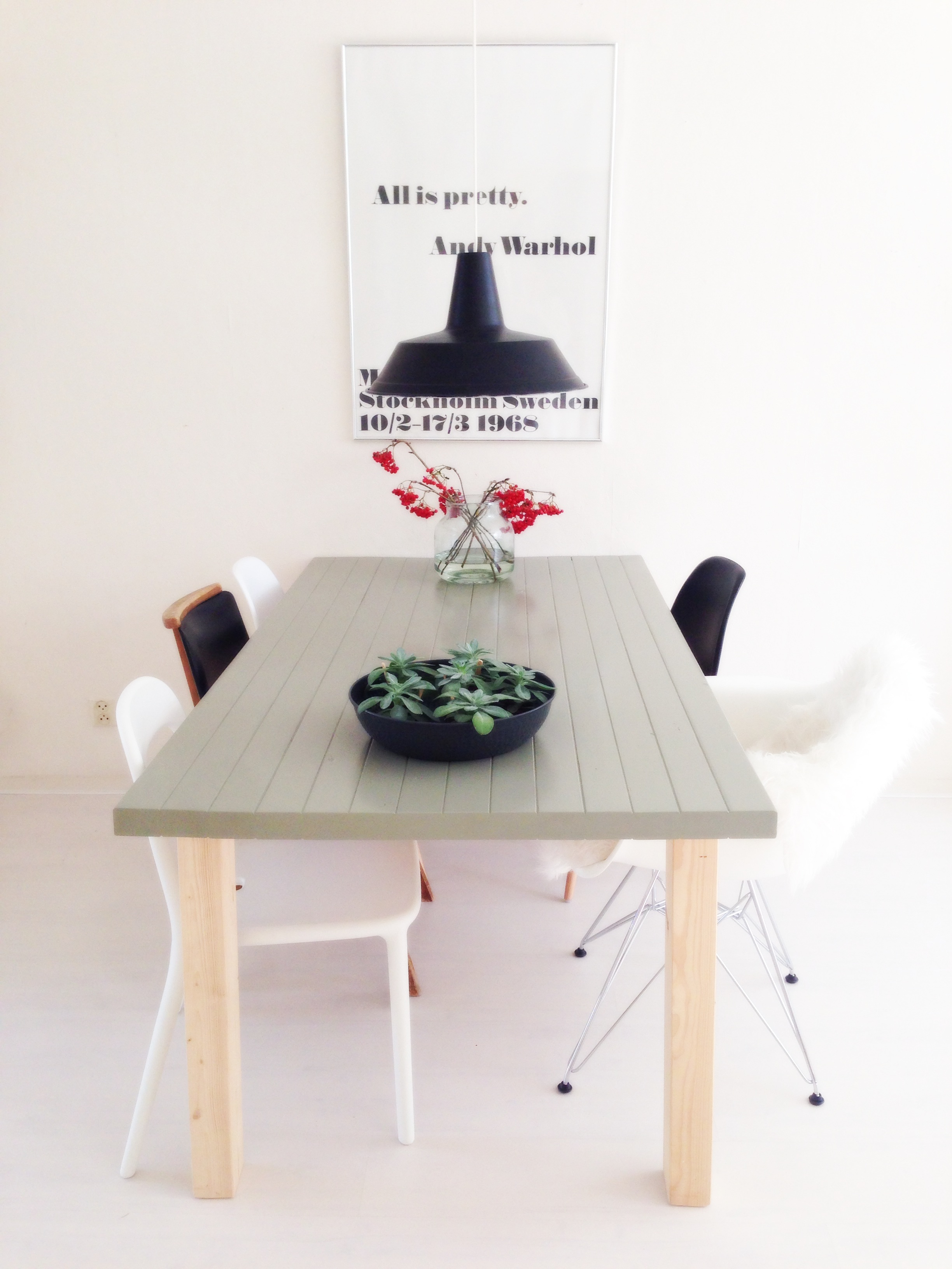 Ikea Eettafel Verven Do It Yourself Tafel Verven Donebymyself