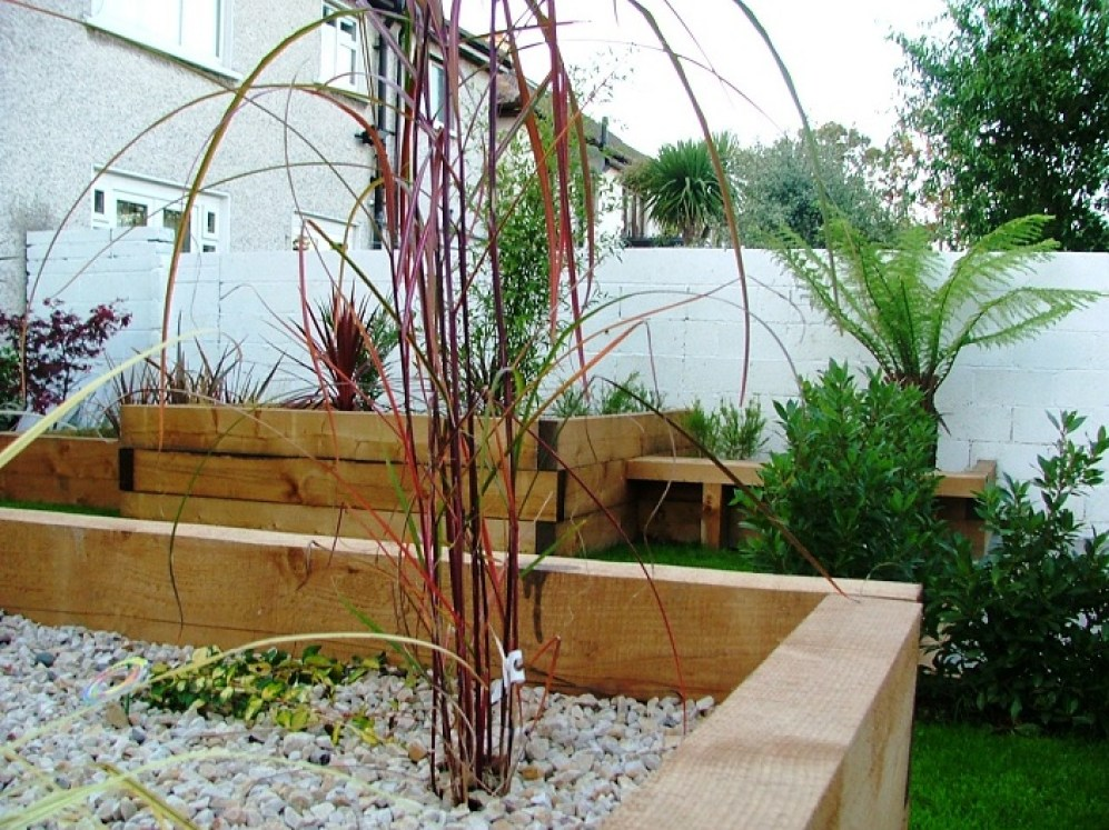 hand made garden planters