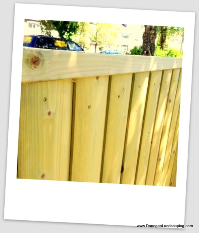 barrel board fencing