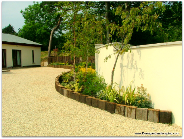 Gallery peter donegan landscaping dublin for Front garden and driveway designs