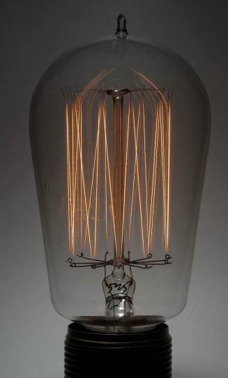 vintage lightbulb