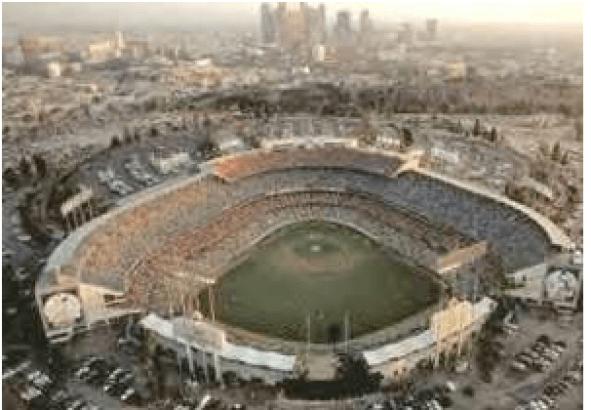 1-Dodger Stadium aerial