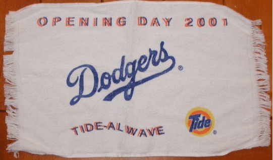 1-Dodger Stadium towel