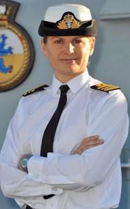 commanding woman