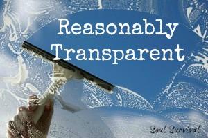 Reasonably Transparent