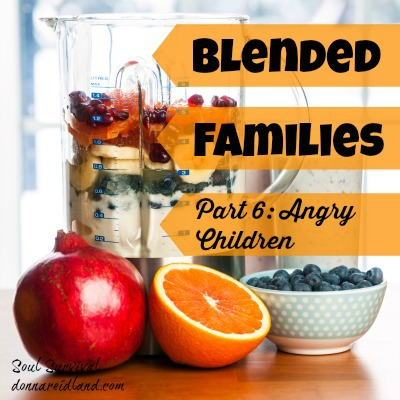 """Blended Families Part 6: Angry Children - We've all seen them, or experienced them, blended families with angry, resentful children or teens. And parents who are just trying to """"live through it"""" until the kids are old enough to leave home. In some cases, the children aren't only angry, but are in full blown rebellion. I don't have to tell you this falls far short of God's best for families. How does this happen when couples start out with such high hopes for their marriages and families?"""