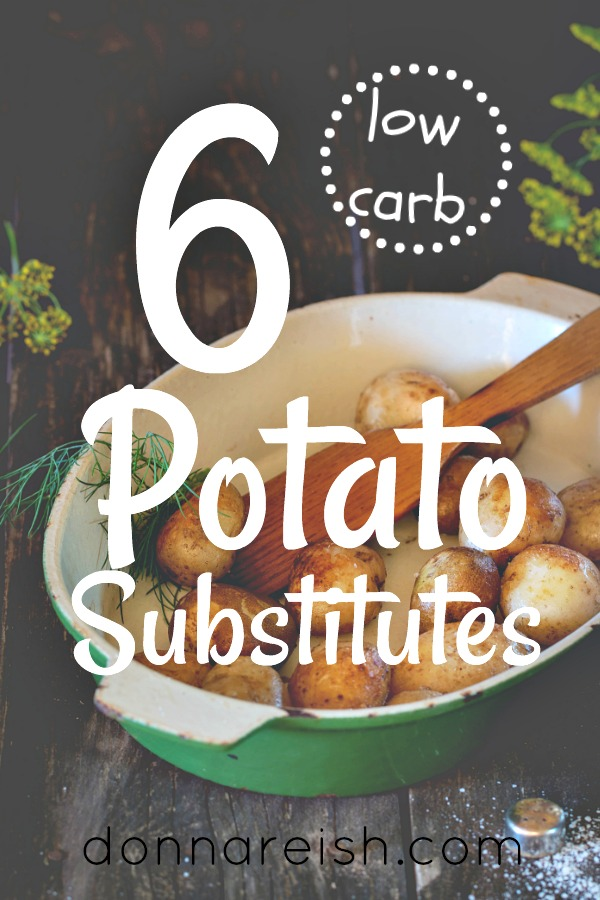 6 Low Carb Potato Substitute Experiments (With Pinnable Chart
