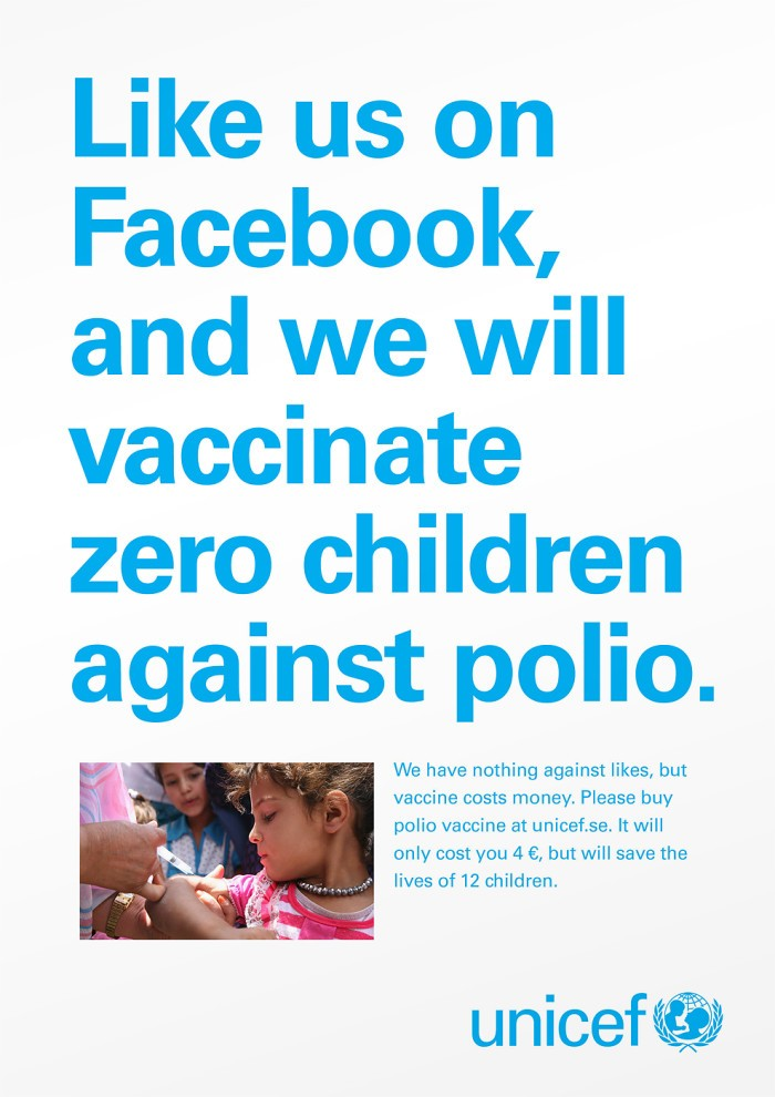 UNICEF - nonprofit marketing strategy