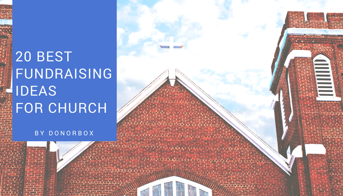 Fundraising ideas for church