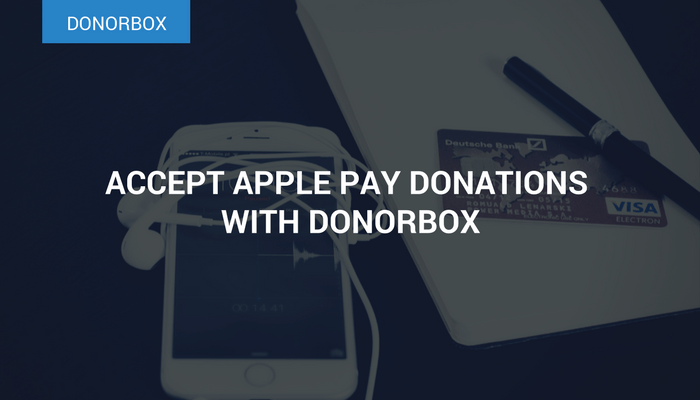 Accept Apple Pay Donations